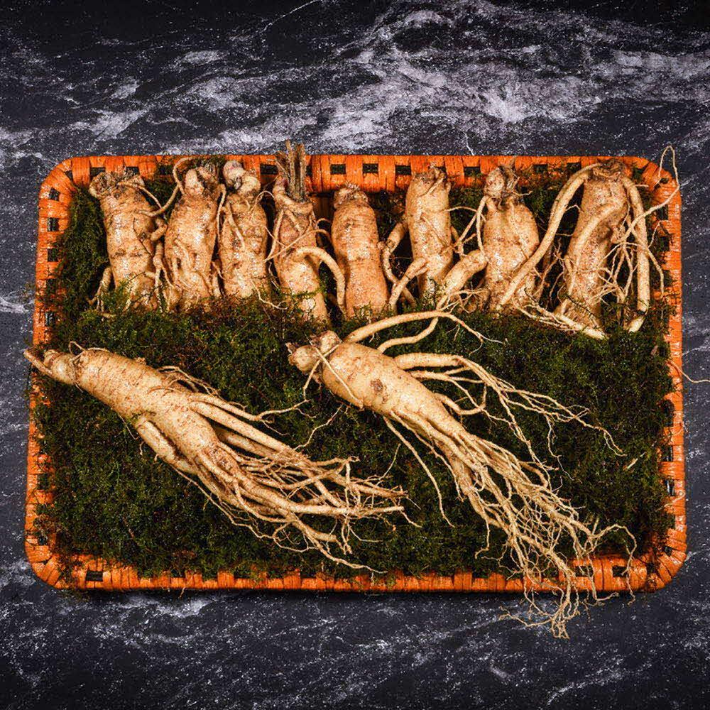 자연맛집 리얼 골드명작 수삼 선물세트(수삼 특대 10뿌리(750g) / 고급포장
