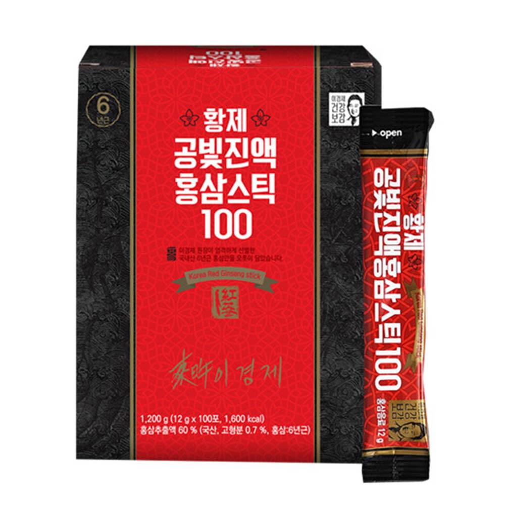 이경제 황제 공빛진액 홍삼스틱 100 (12g*100포)