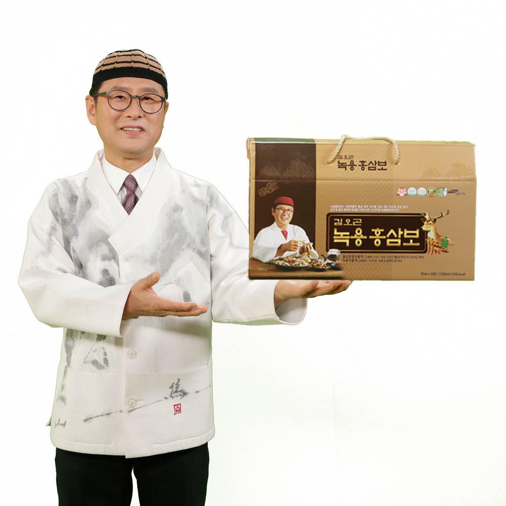 김오곤 녹용홍삼보 2개월(30포*2박스)
