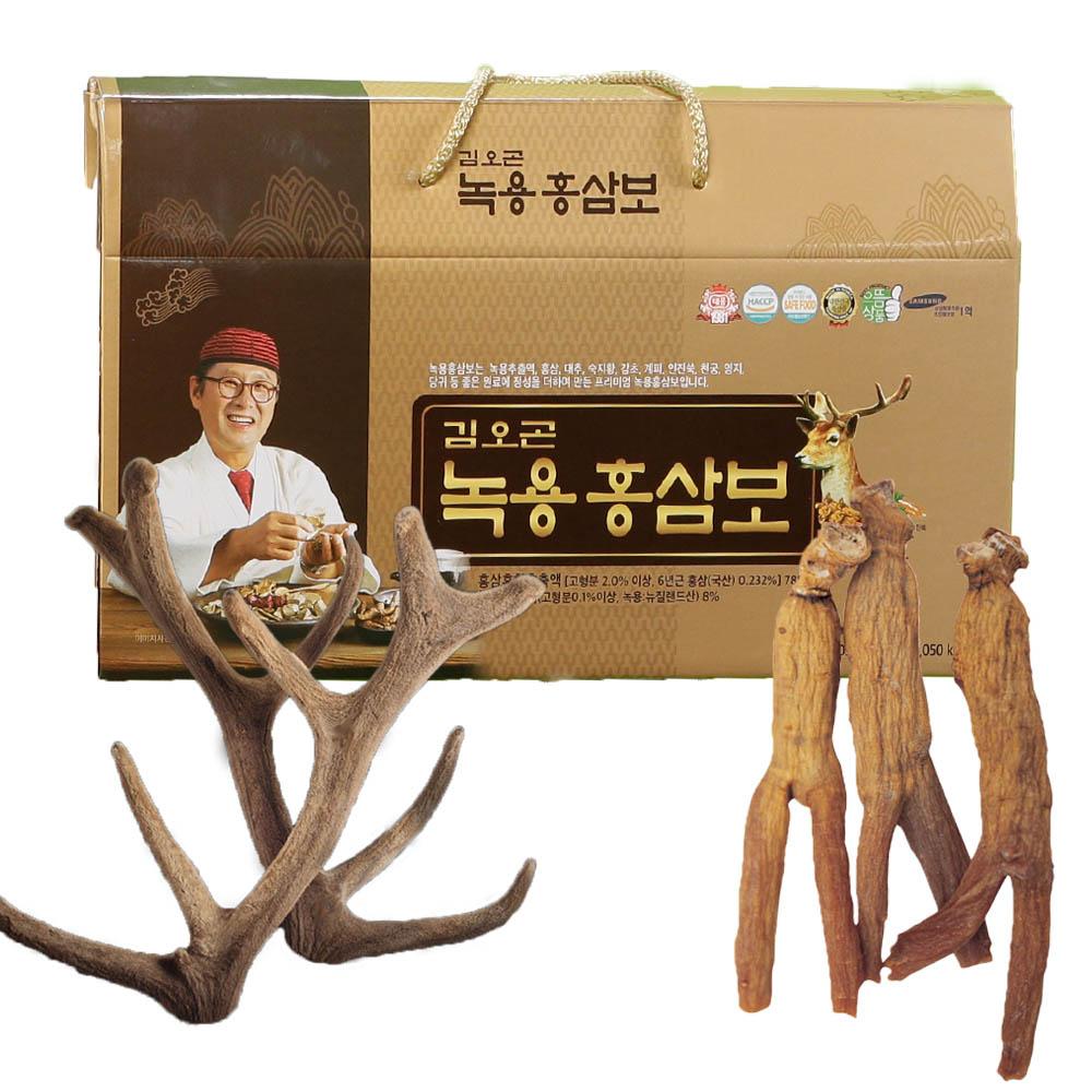 김오곤 녹용홍삼보 3개월(30포*3박스)