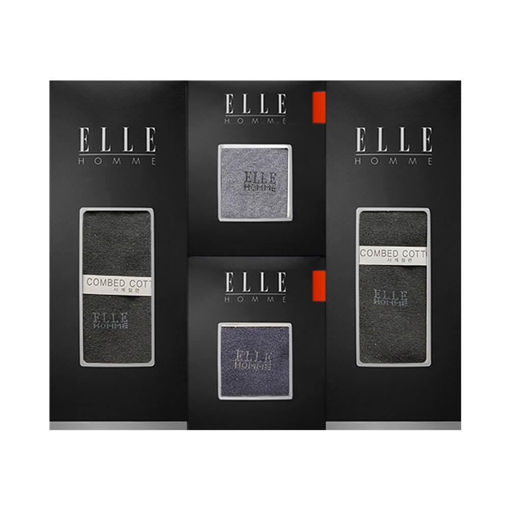 [엘르] 신사양말 4족 EH40996