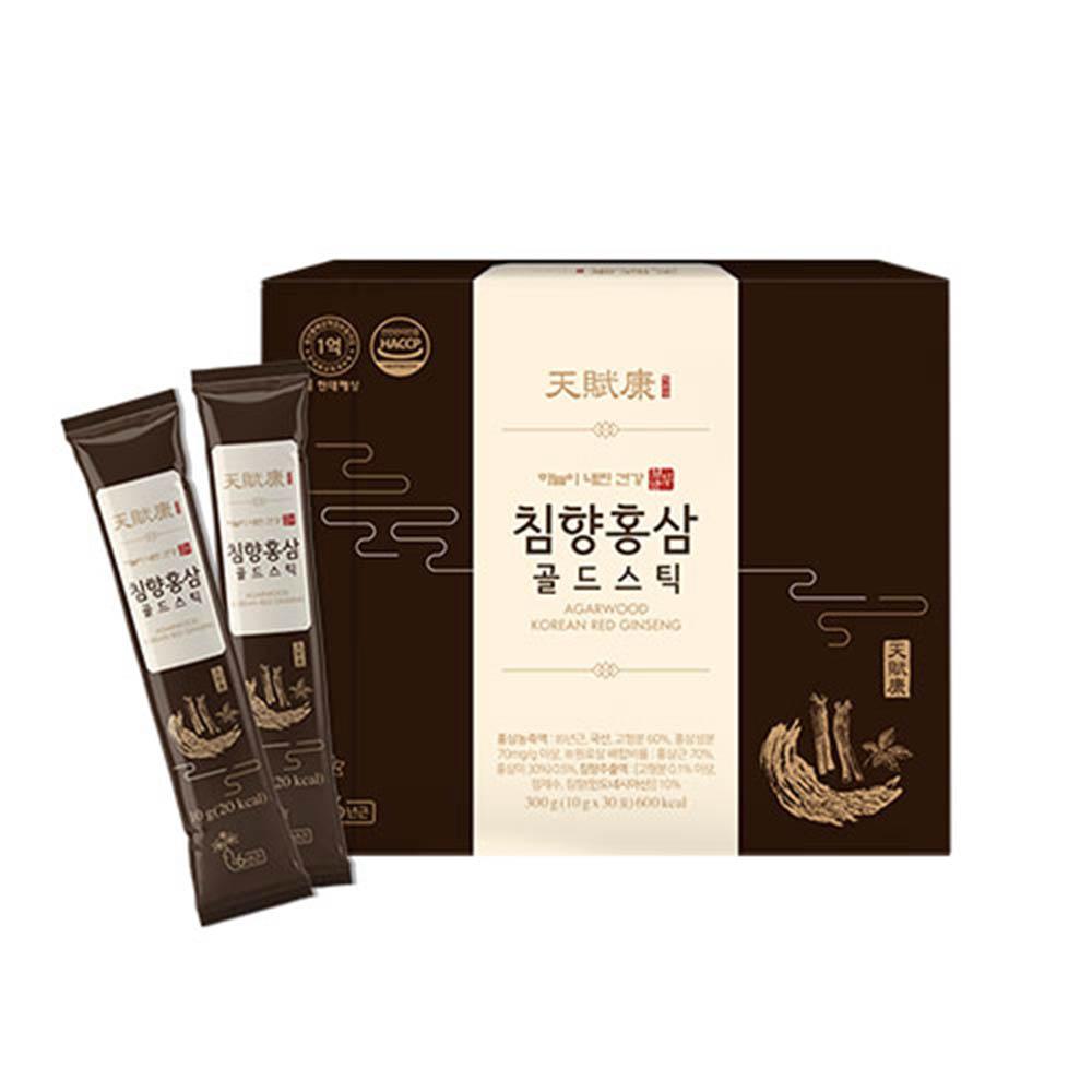 [천부강] 침향홍삼 골드스틱 10g x 30포