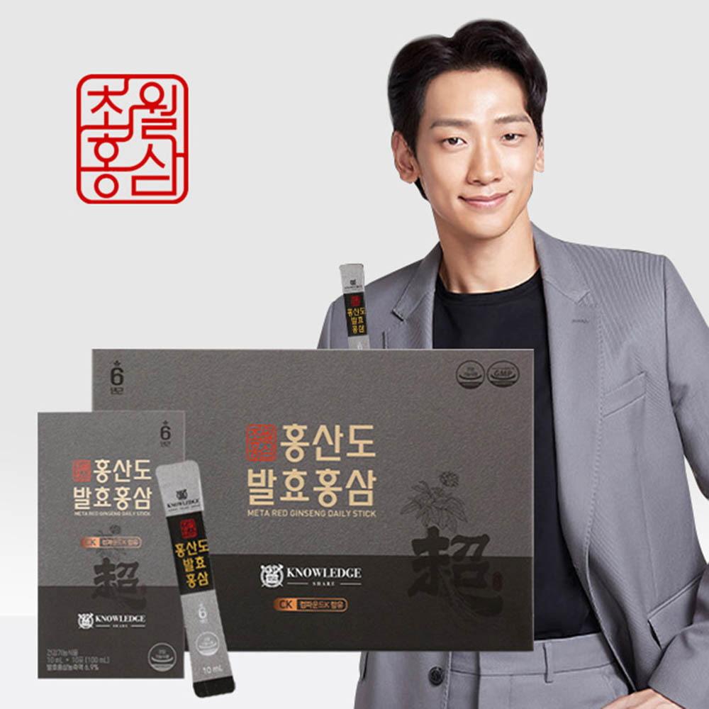 초월홍삼 홍산도 발효홍삼 10ml x 10EA x 3박스