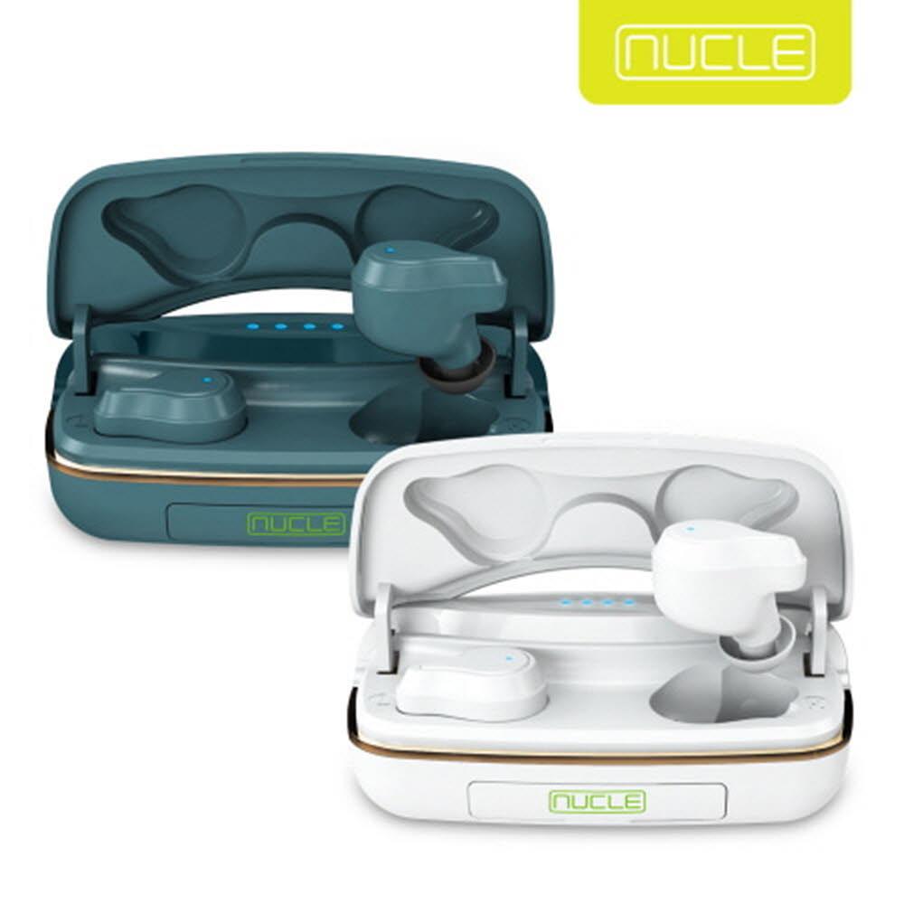 뉴클 블루투스 무선이어폰 보조배터리형 TWS NCBT-B1
