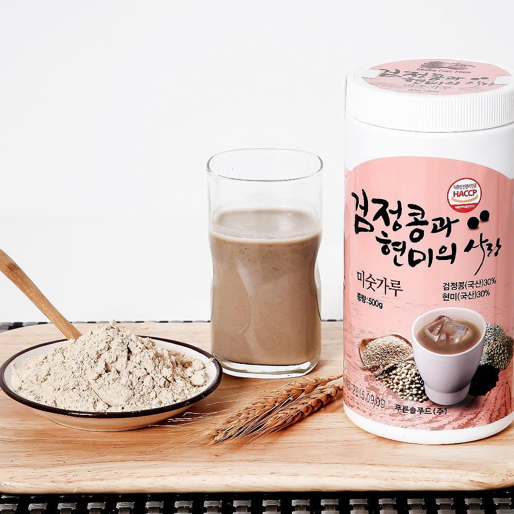 정선드림 검정콩과 현미의 사랑미숫가루 500g
