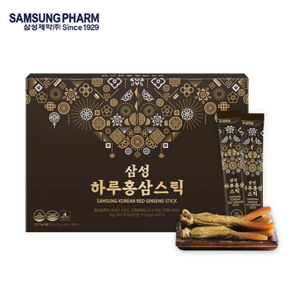 삼성제약 삼성하루홍삼스틱 10g x 30포