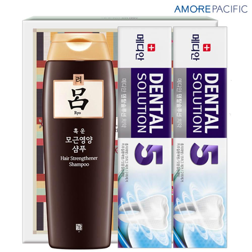 아모레 려샴푸200용기 메디안치약90g2P(3종)