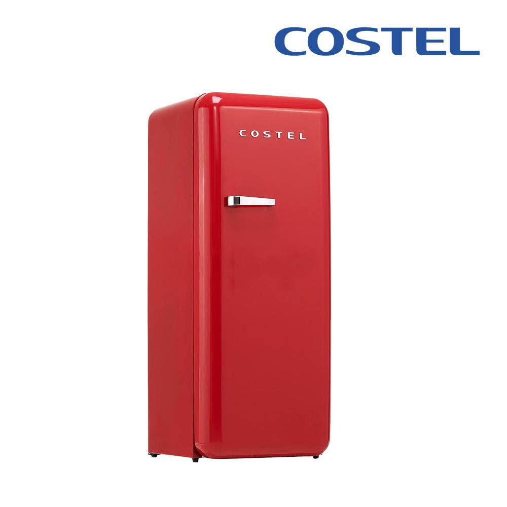 코스텔 모던냉장고 281L CRS-281HAMB(매트블랙), CRS-281HARD(레드)