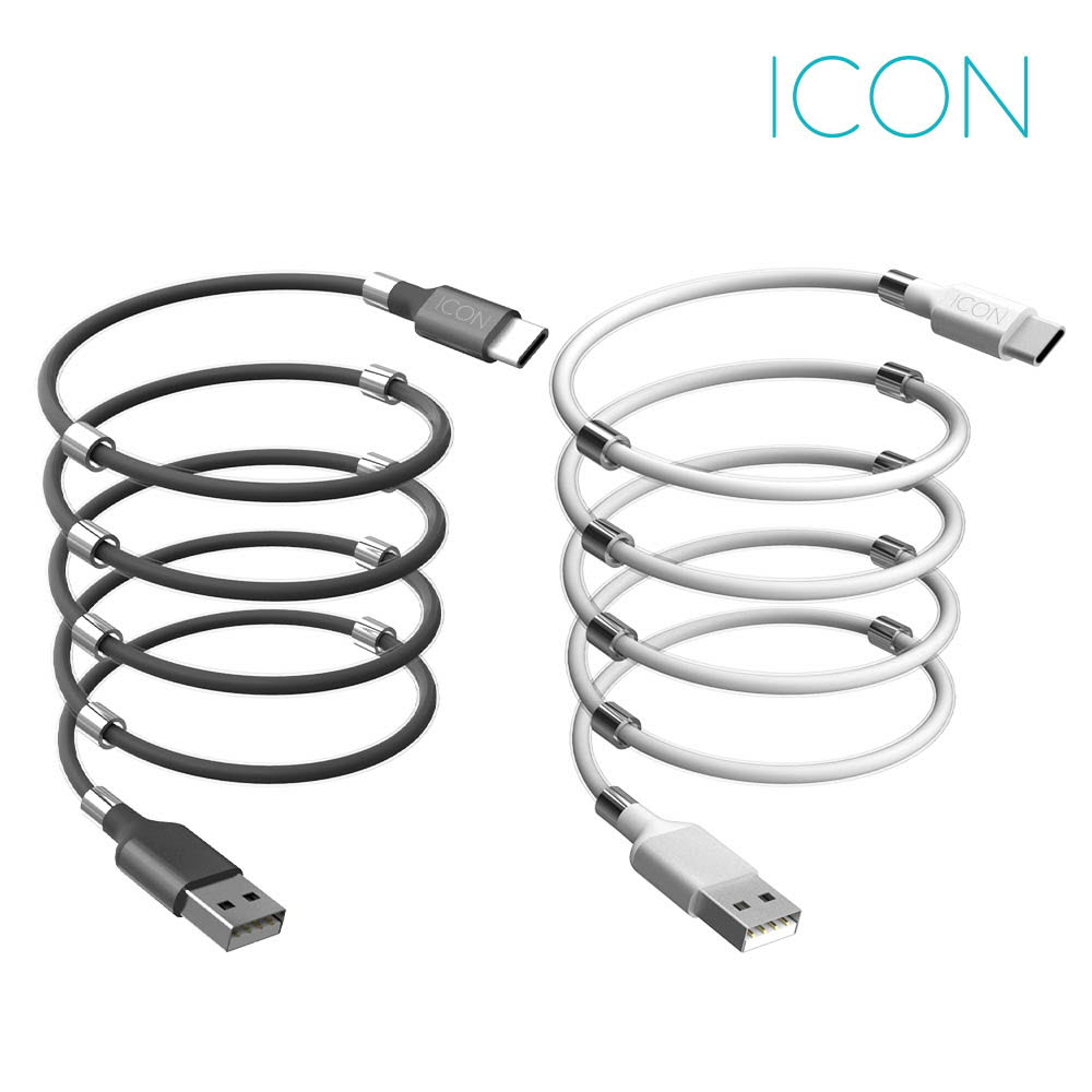 아이콘 마그네틱 선정리 충전케이블 ICON-MGC1-Y100