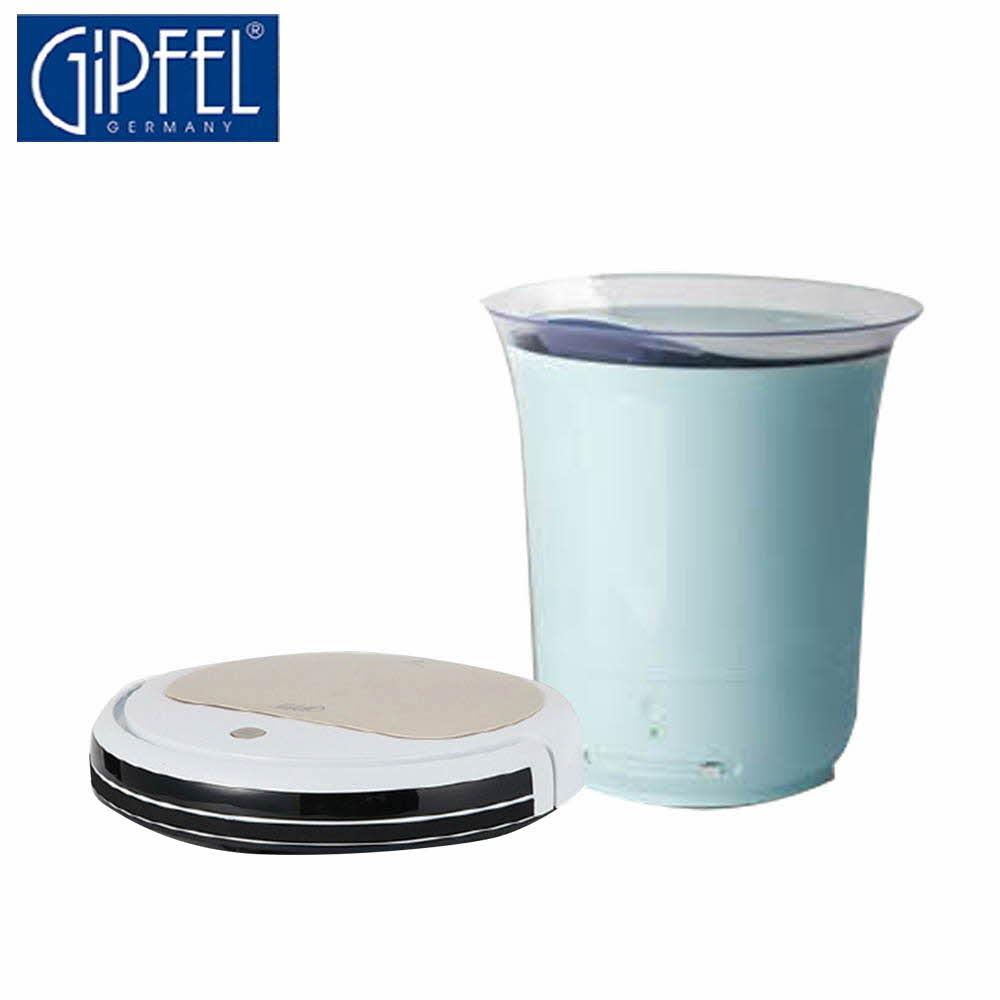 기펠 자동충전 물걸레 로봇 청소기+통세척 대용량 가습기