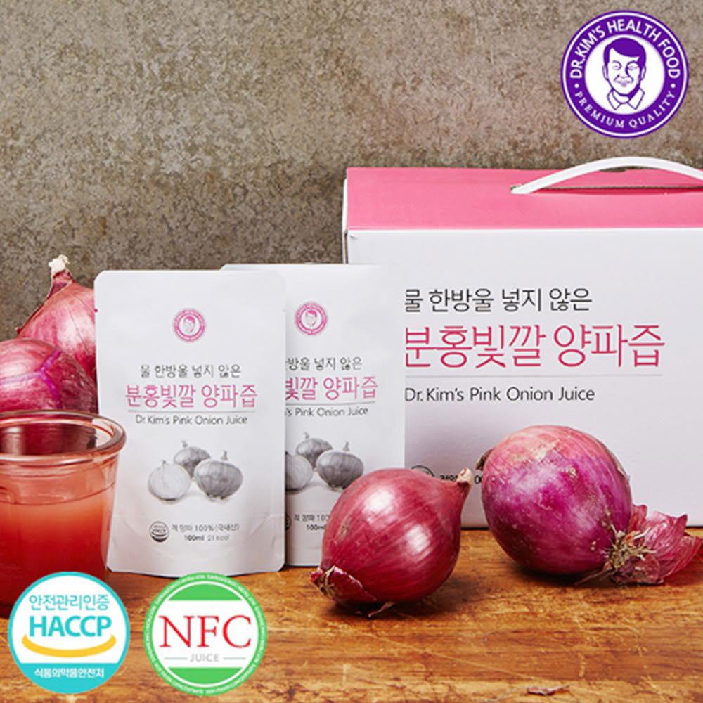 김재식헬스푸드 분홍빛깔 양파즙 100ml* 30팩