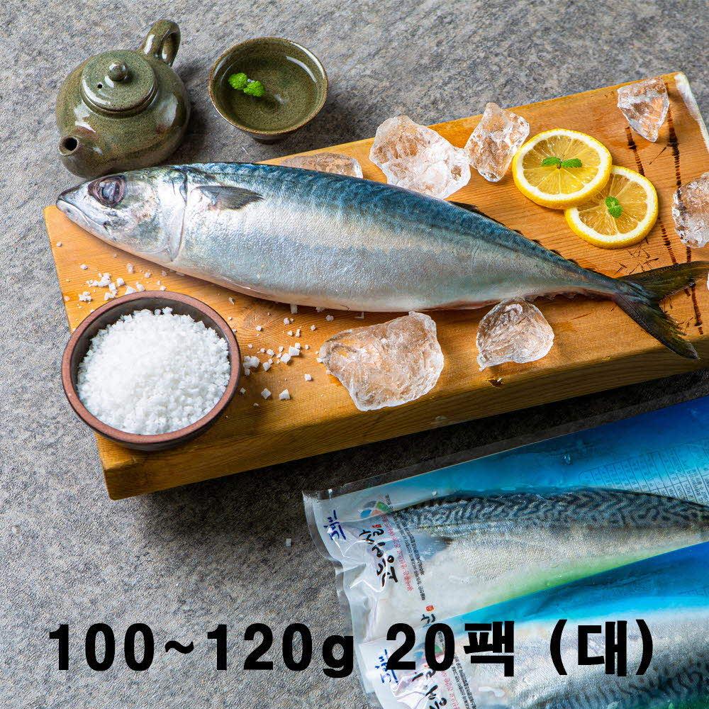 해올찬 제주청정바다 고등어세트 100g~120g 20팩(대)
