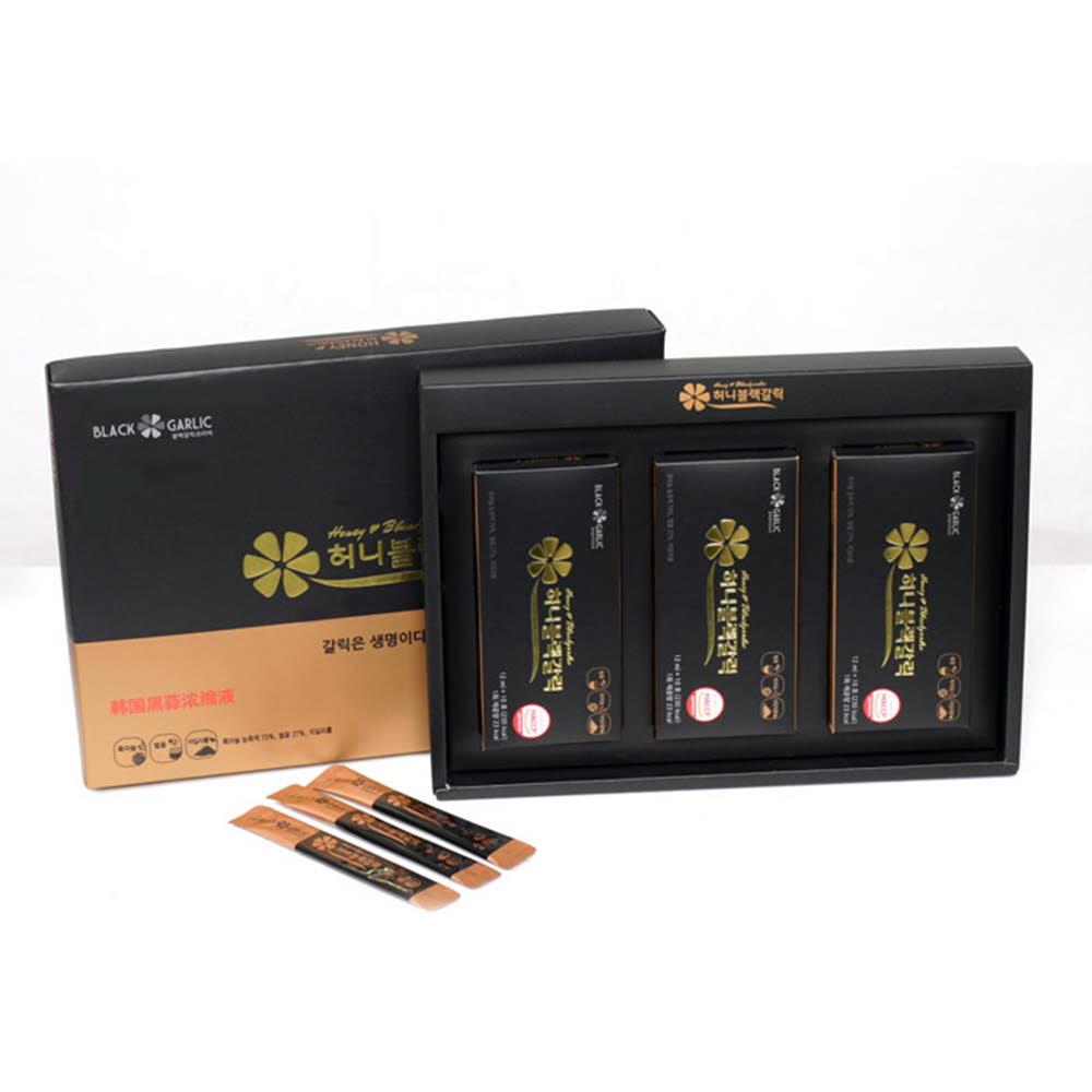 블랙갈릭코리아 허니블랙 갈릭 농축액 선물용 12ml(30포)
