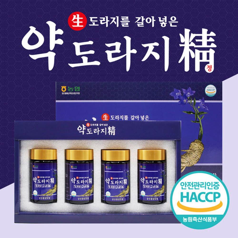 금산홍삼조합 약도라지정 선물세트 240g x 4병 + 쇼핑백