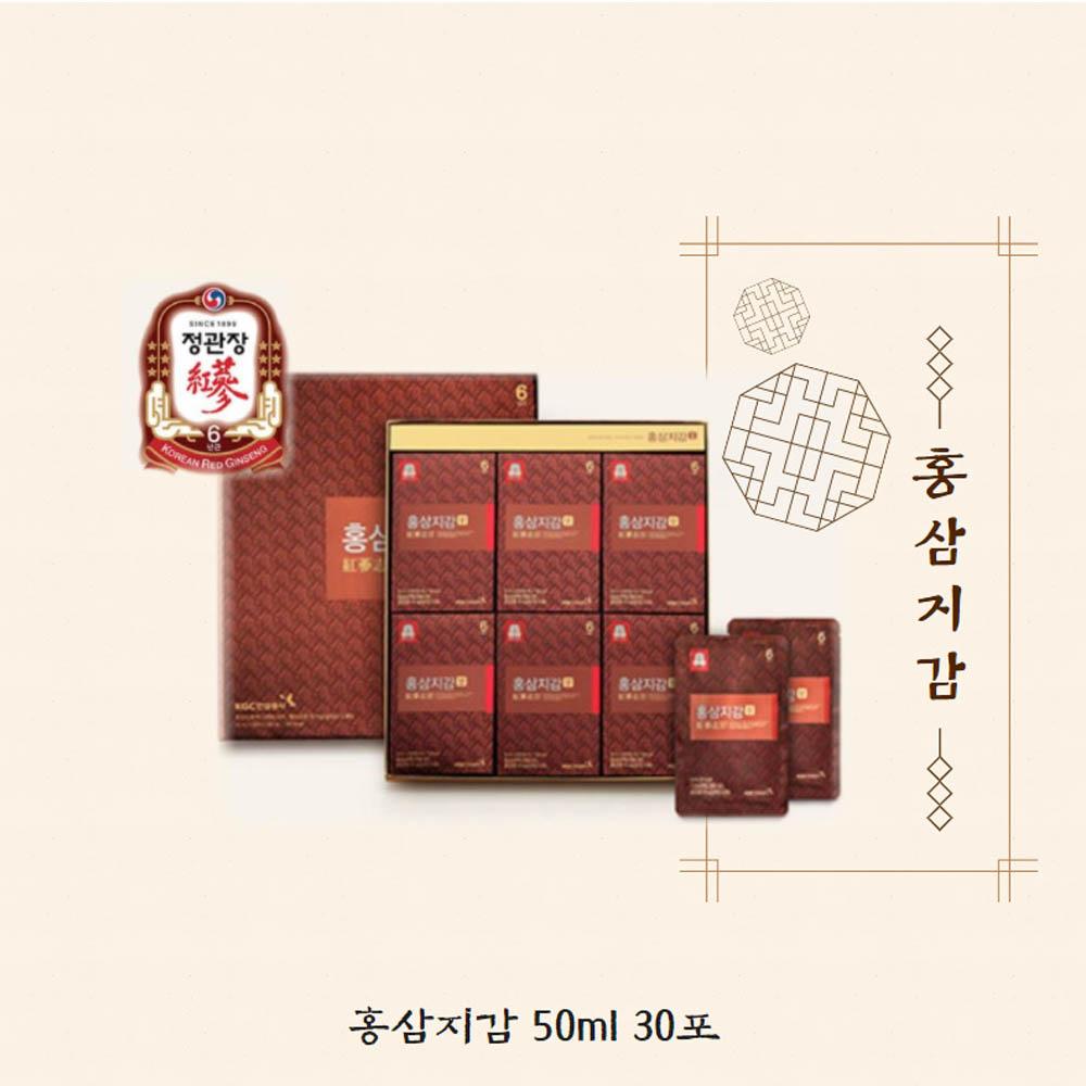 정관장 홍삼지감 50ml x 30포
