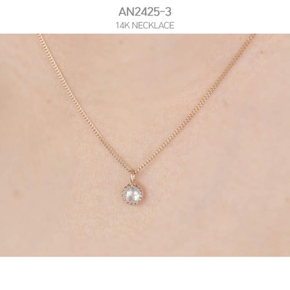 [j.mellow] 까멜리아 목걸이 14k gold (AN2425-3)