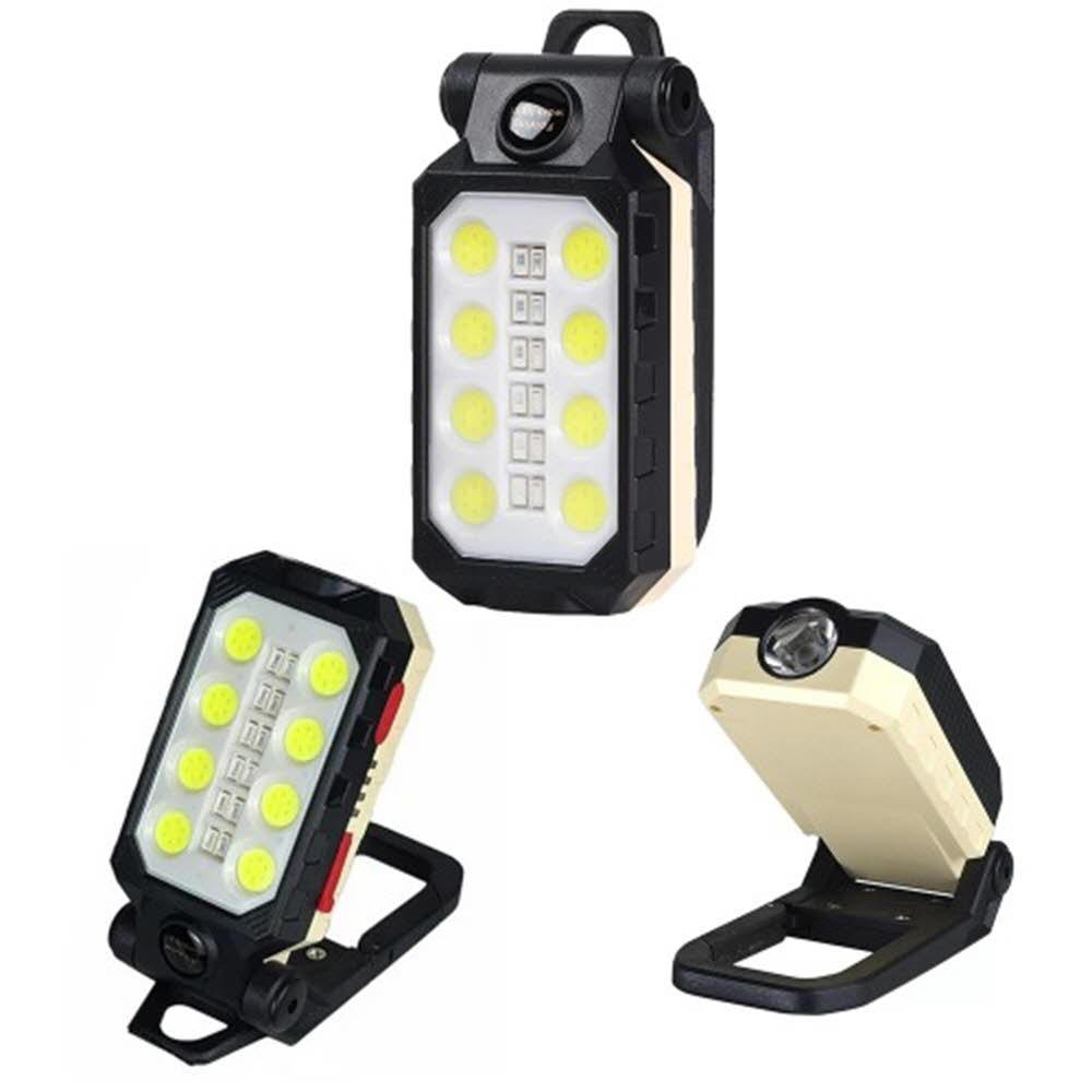 LED 충전식 캠핑 낚시 랜턴 손전등 후레쉬 작업등 W598 아X