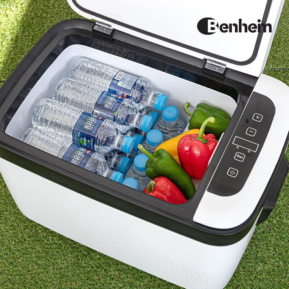 벤하임 슬림라인 아이스 차량용 냉장고 냉동고 25L BCF-40W25L