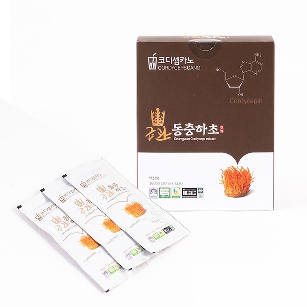 금관 유기농 동충하초 진액 파우치 12개입