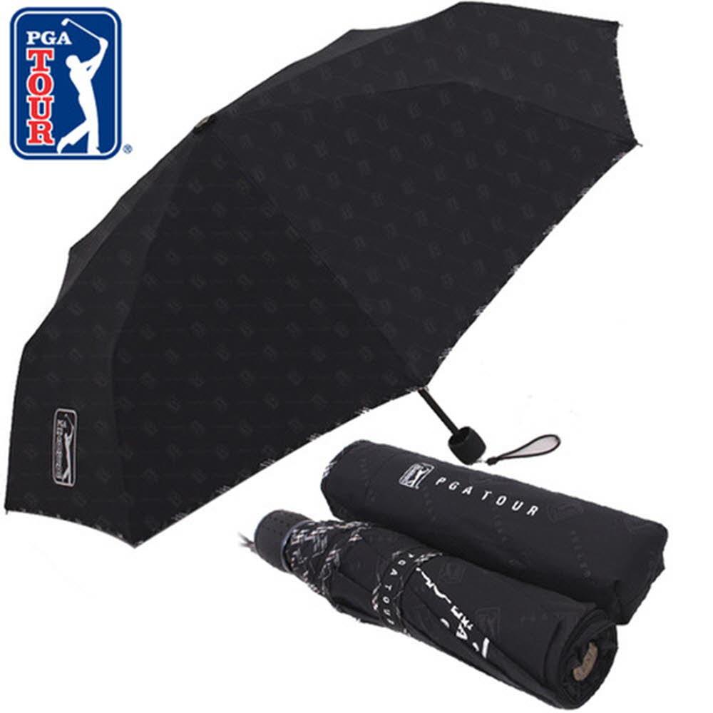PGA 3단수동 엠보선염바이어스 우산