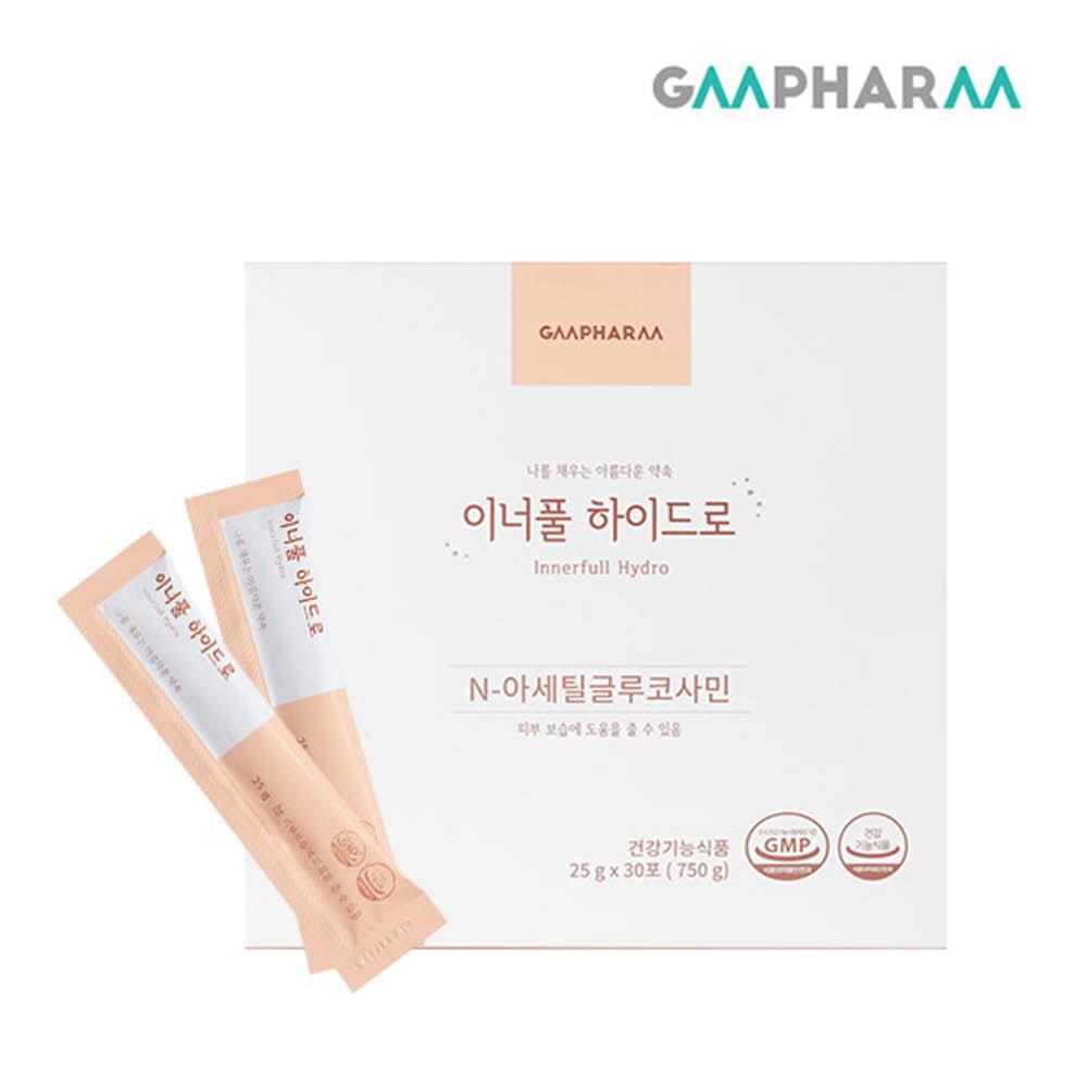 [지엠팜]이너풀하이드로 25g*30포(이너뷰티/피부보습,피부영양제)