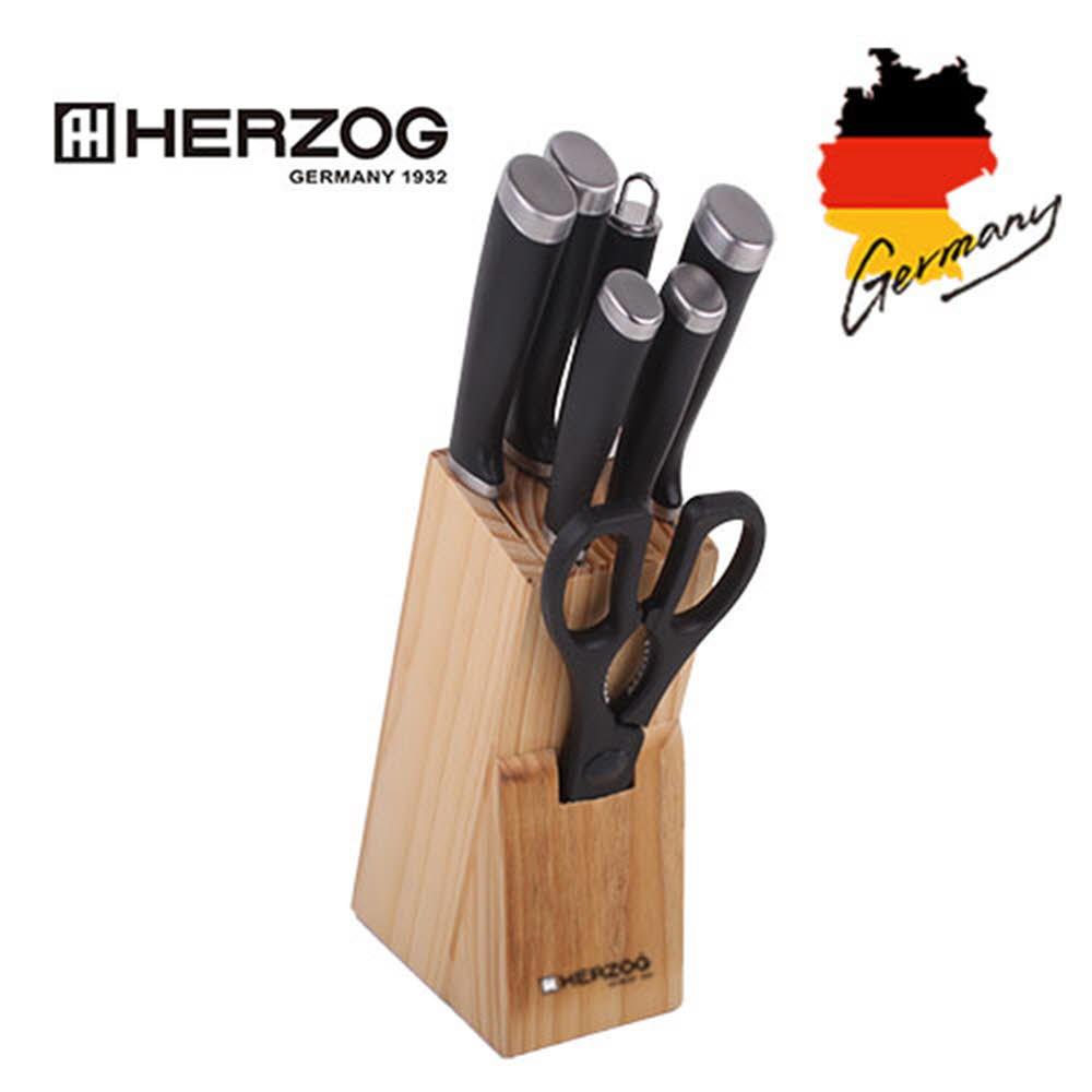 헤르조그 스테인레스 칼블럭 8종세트(MCHZ-K08)