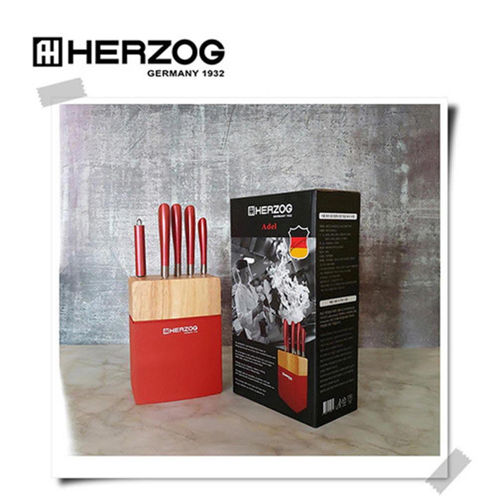 헤르조그 아델 프리미엄 칼블럭 6종세트(MCHZ-EM014)