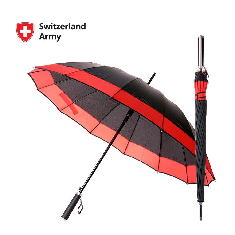 스위칠랜드아미 레인데이 자동 장우산