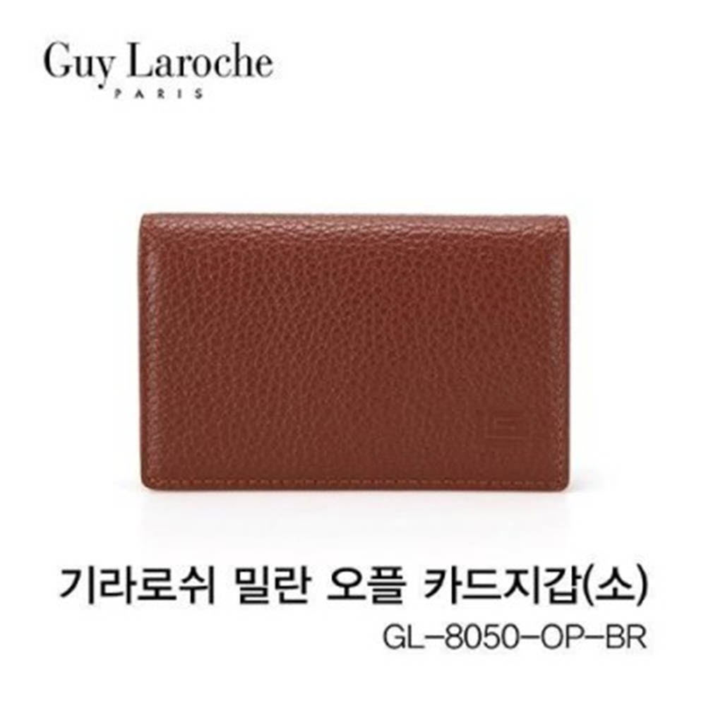 기라로쉬 밀란 오플 카드지갑(소) GL-8050-OP-BR