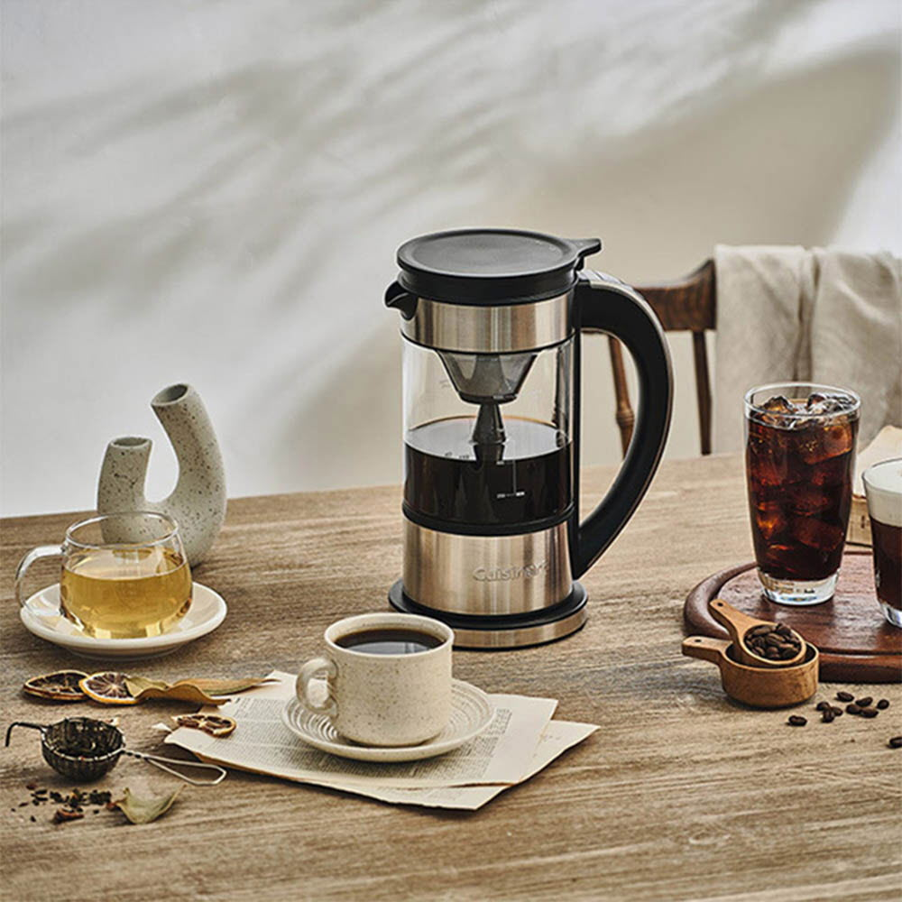 쿠진아트 핫 콜드 브루 커피메이커 FCC-1KR