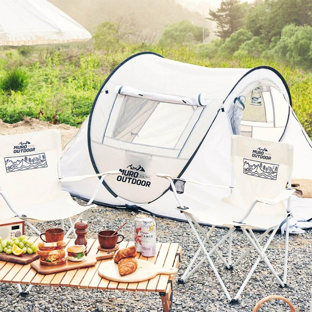 [무로] 아웃도어 원터치 텐트