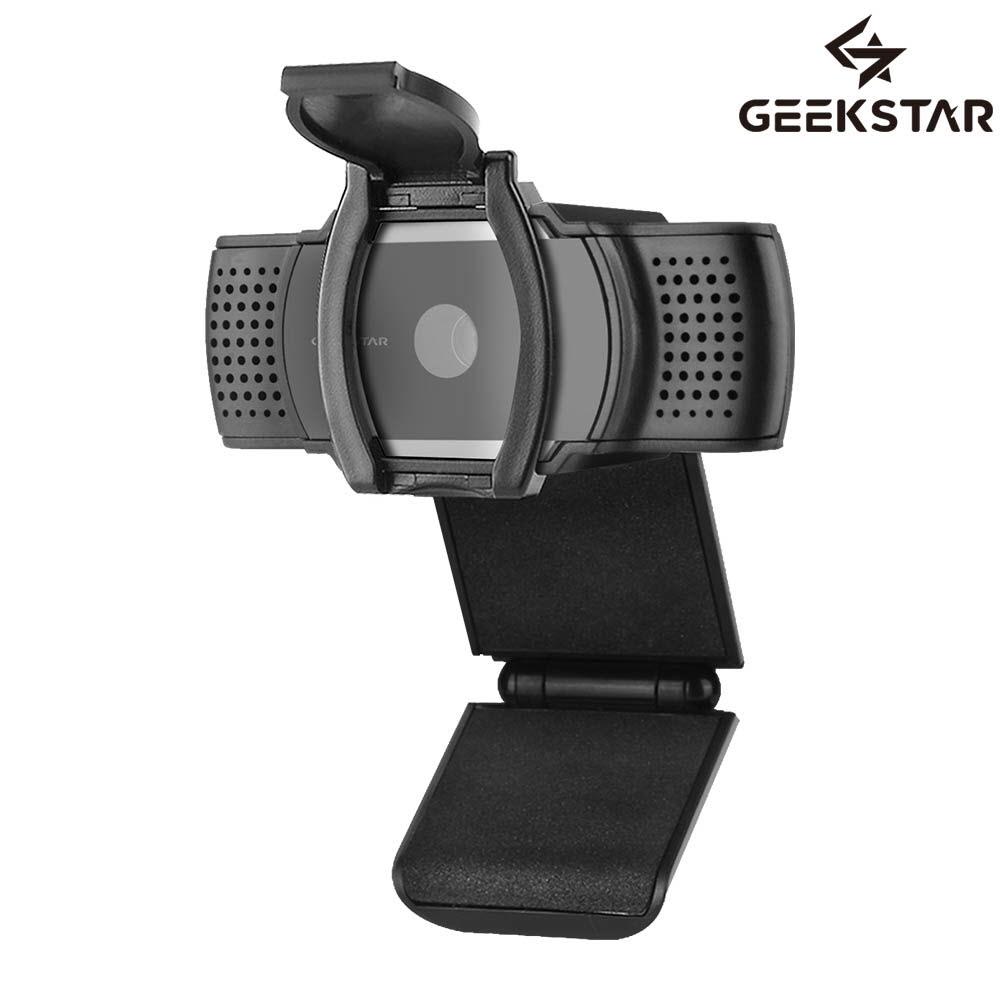 세컨드찬스 긱스타 초고화질 QHD 웹캠 Gcam-Q200 / 사생활보호캡 / 내장마이크