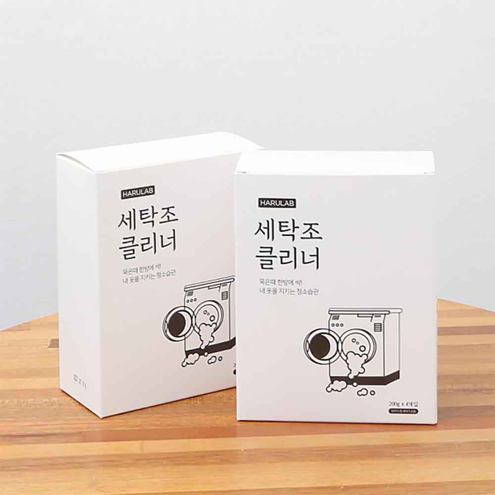 하루랩 세탁조 클리너 1BOX (200g*4봉)