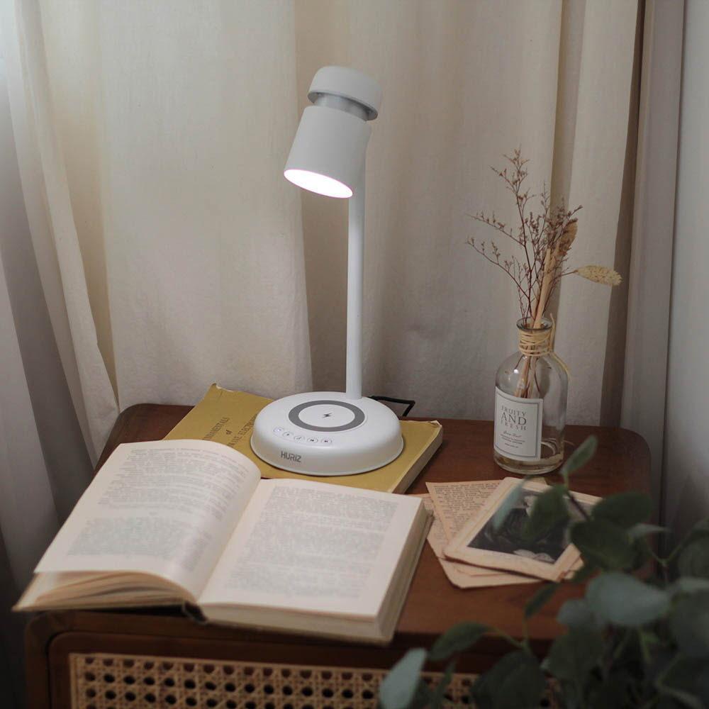 휴라이즈 다기능 LED 스탠드 (스피커+고속무선충전+LED 스탠드) HR-L900BT