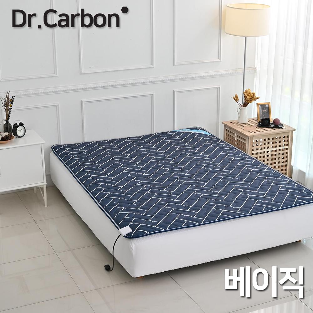닥터카본 베이직 카본탄소매트 더블분리 (와인,블루)