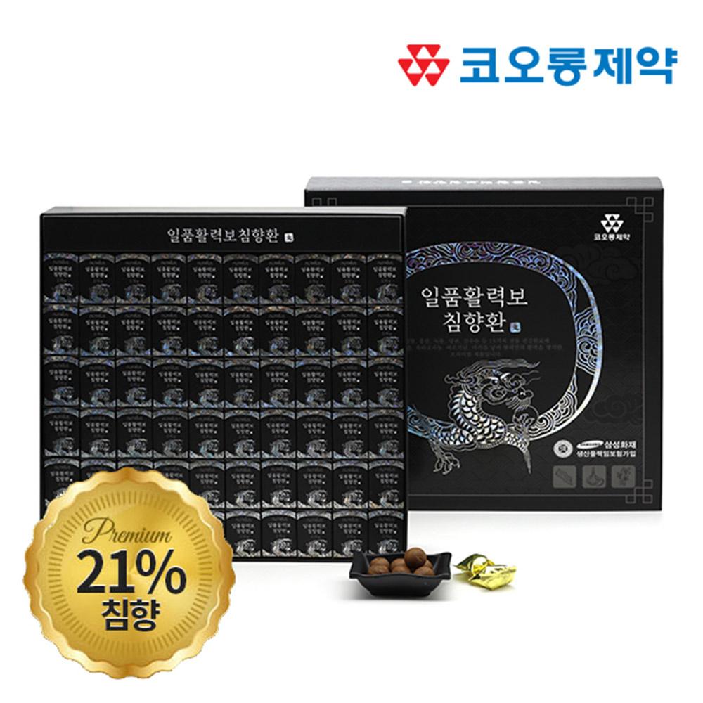 코오롱제약 뉴트리어스 일품활력보 침향환 3.75g x 60환