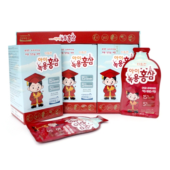 [이경제원장의 건강보감]아이녹용홍삼 20mlx30포