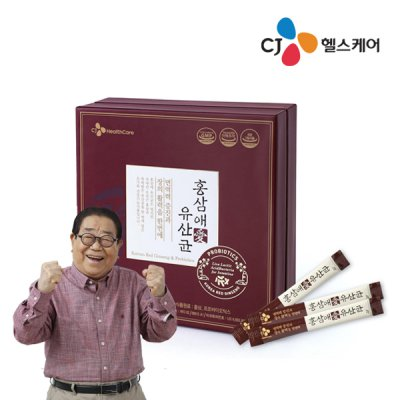 CJ홍삼애 유산균 2gX60포